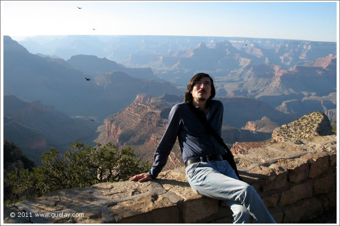Nariman Hodjati at South Rim, Grand Canyon, Arizona (2006)
