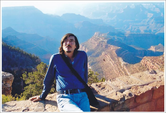 Nariman Hodjati at Grand Canyon, South Rim, Arizona (2006)