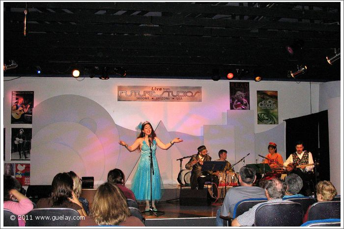 Gülay Princess & The Ensemble Aras at Future Studios, Sedona, Arizona (2006)