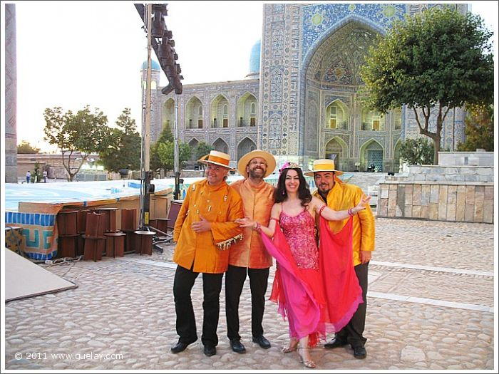 Gülay Princess & The Ensemble Aras at Registan Square, Samarkand (2007)