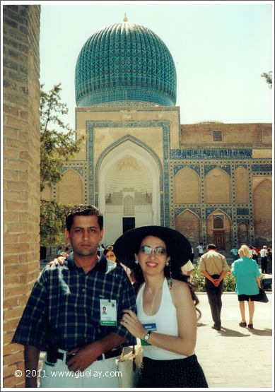 Sahiyor Tacijev an Gülay Princess at Sharq Taronalari Music Festival in Samarkand (2003)