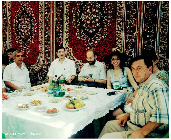 The Ensemble Aras at celebration, Sharq Taronalari Music Festival in Samarkand (2003)