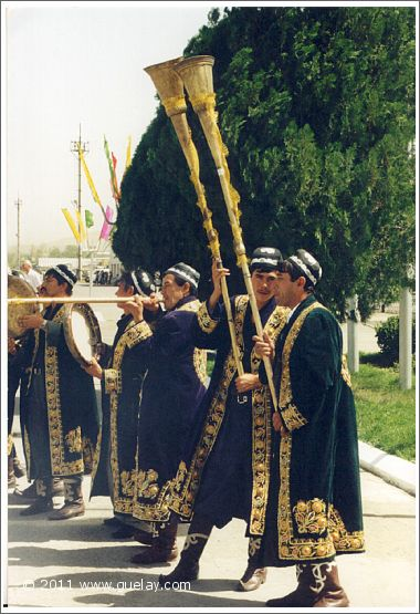 reception at Tashkent International Airport (1997)