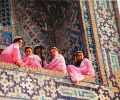 girls from Samarkand at Sharq Taronalari Music Festival (1999)