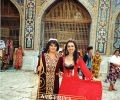 Gülay Princess with girl from Samarkand