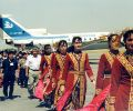 arrival at Samarkand Airport (1997)