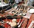 musical instruments of Uzbekistan in Samarkand (1999)