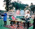 The Ensemble Aras, open air concert at Sharq Taronalari Music Festival in Samarkand (1999)