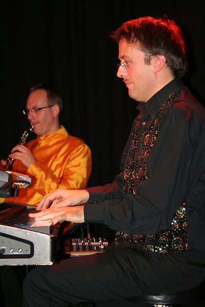 Andreas Pöttler and Marco Annau at Sargfabrik 2009, Vienna