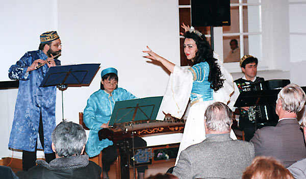 Gülay Princess & The Ensemble Aras at Diplomatic Academy, Vienna