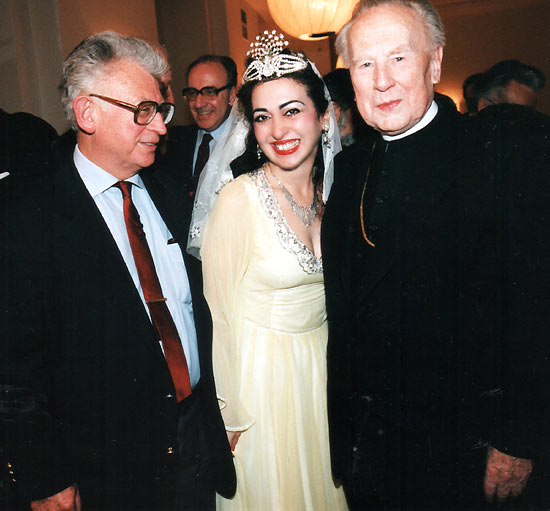 Prof. Dr. Walter Dostal, Gülay Princess and DDr. Franz König
