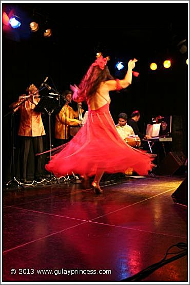 Gülay Princess & The Ensemble Aras at Sargfabrik 2010