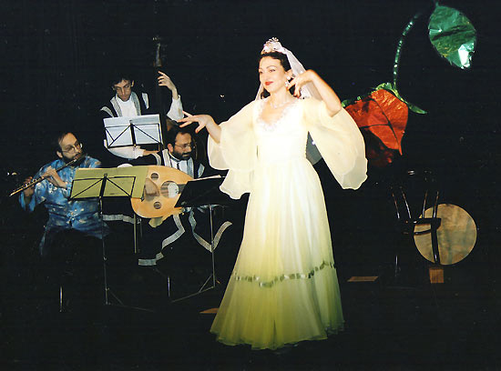 Gülay Princess & The Ensemble Aras at Interkult Theatre, Vienna (1995)