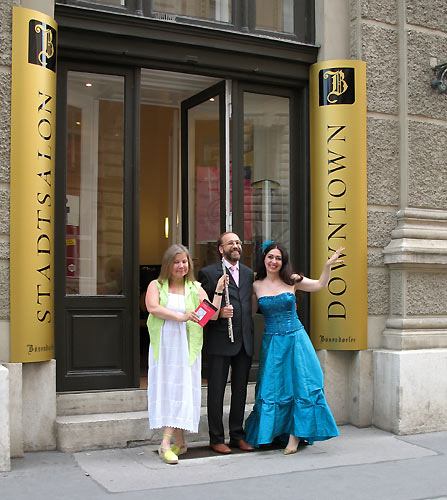 Reet Kudu, Josef Olt and Gülay Princess at Bösendorfer Stadtsalon, Wien