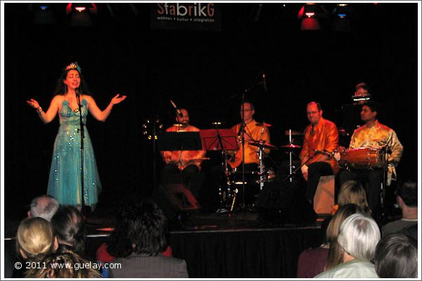 Gülay Princess & The Ensemble Aras at Sargfabrik, Vienna (2008)