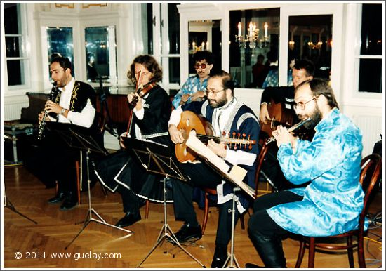 Gülay Princess & The Ensemble Aras at Volksliedwerk, Vienna (1994)